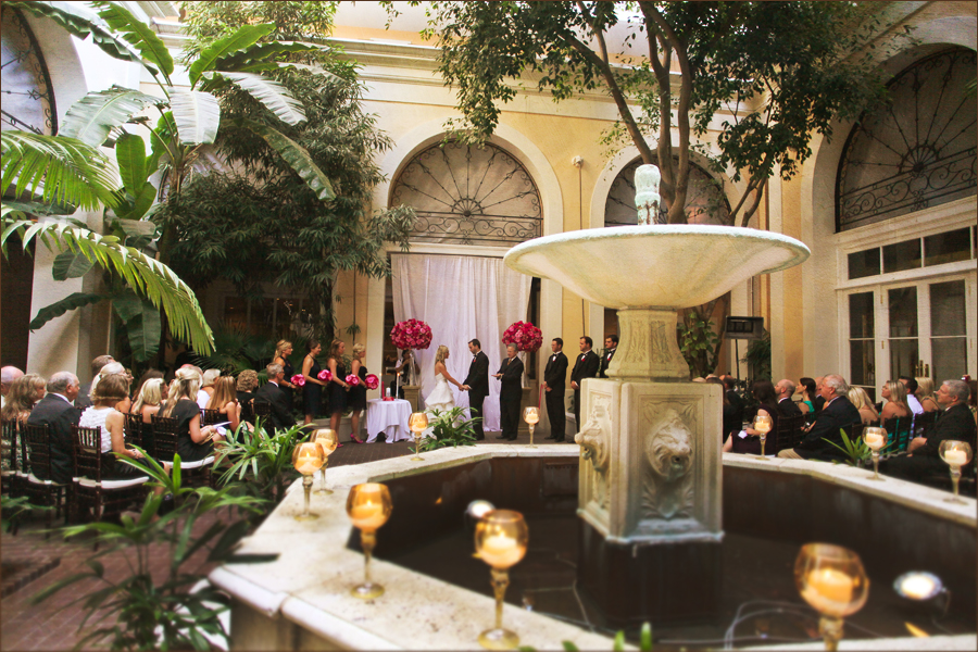French Quarter Courtyard Wedding