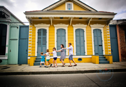 New Orleans family photography