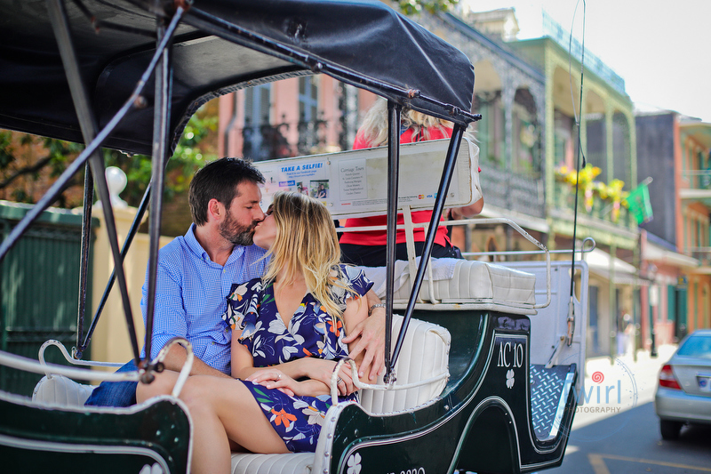 French Quarter Proposal Photography